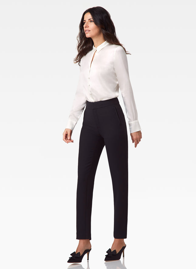 Garbo Stretch Crepe Pant