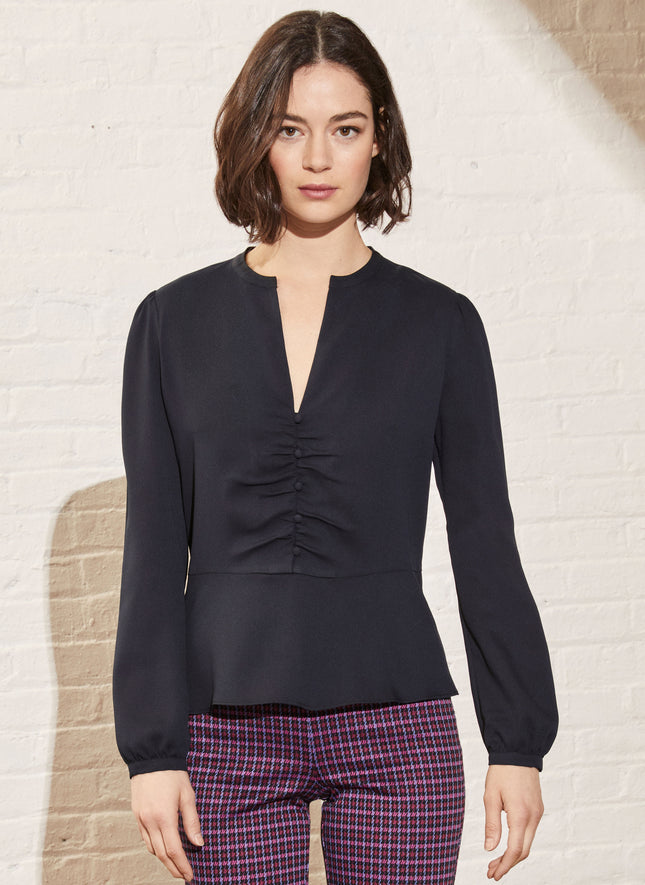 Winslet Soft Peplum Top