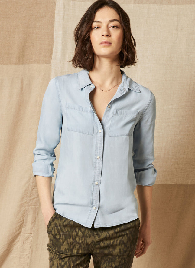 Chastain Denim Shirt