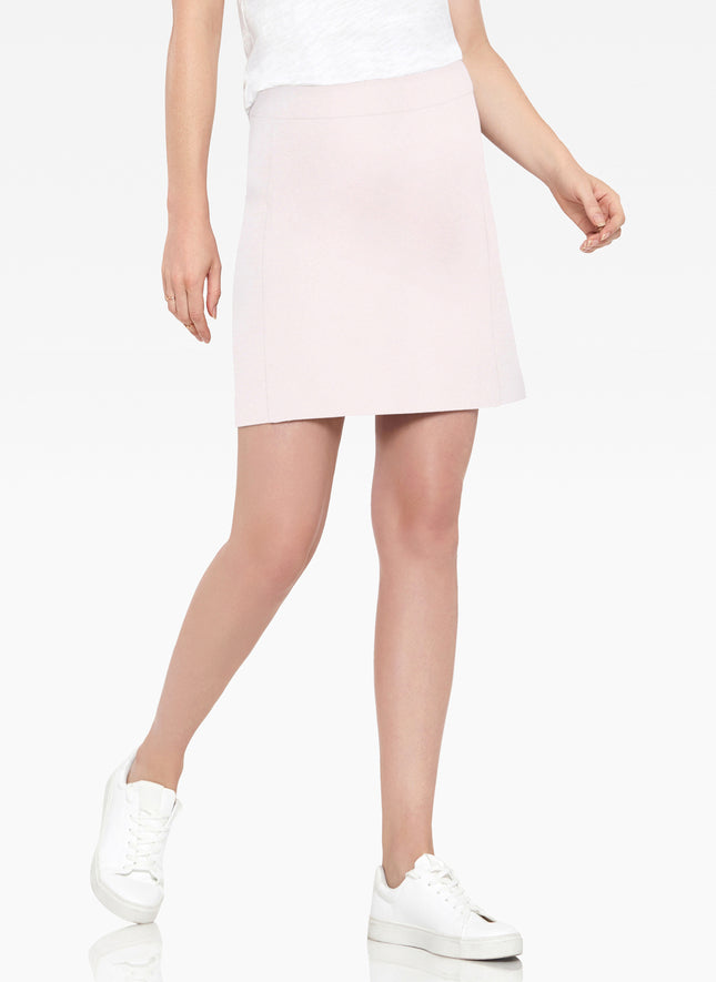 Skirt with Side Panel Details