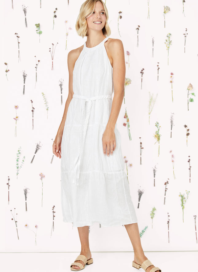 Pfeiffer Linen Halter Dress