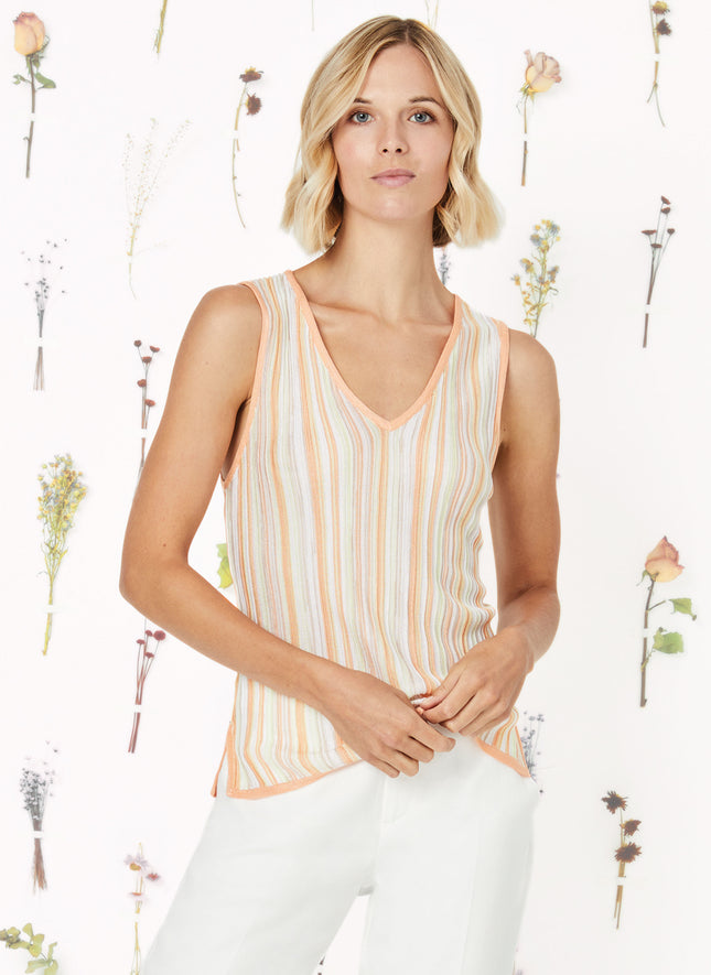 Knit Stripe Tank