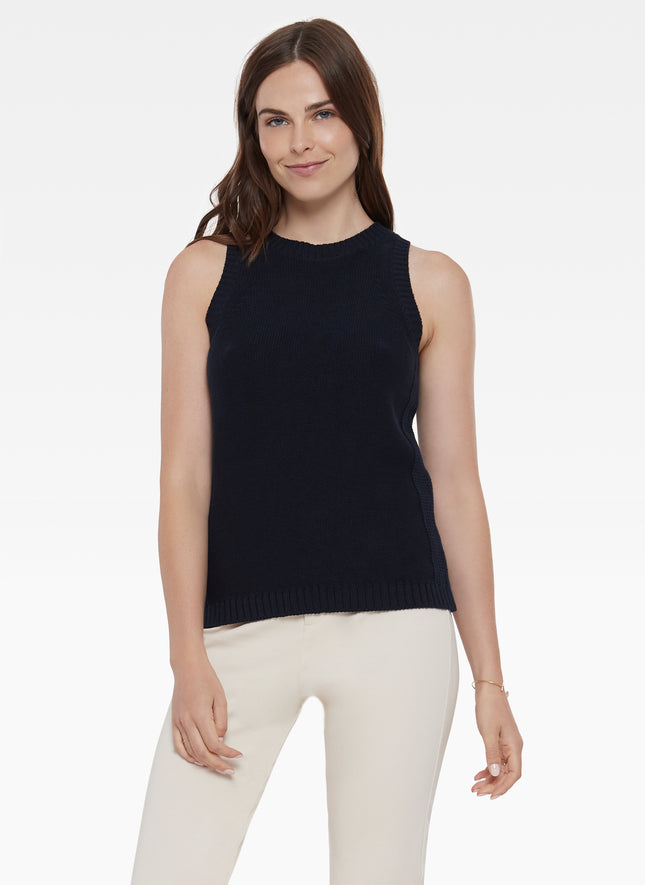 Cotton Halter Sweater