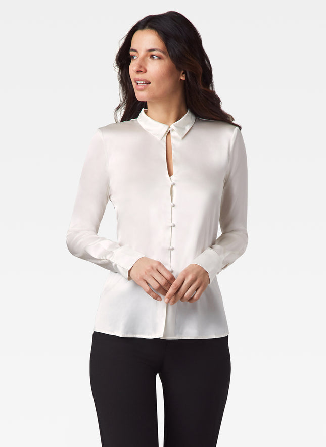 Roberts Stretch Silk Shirt
