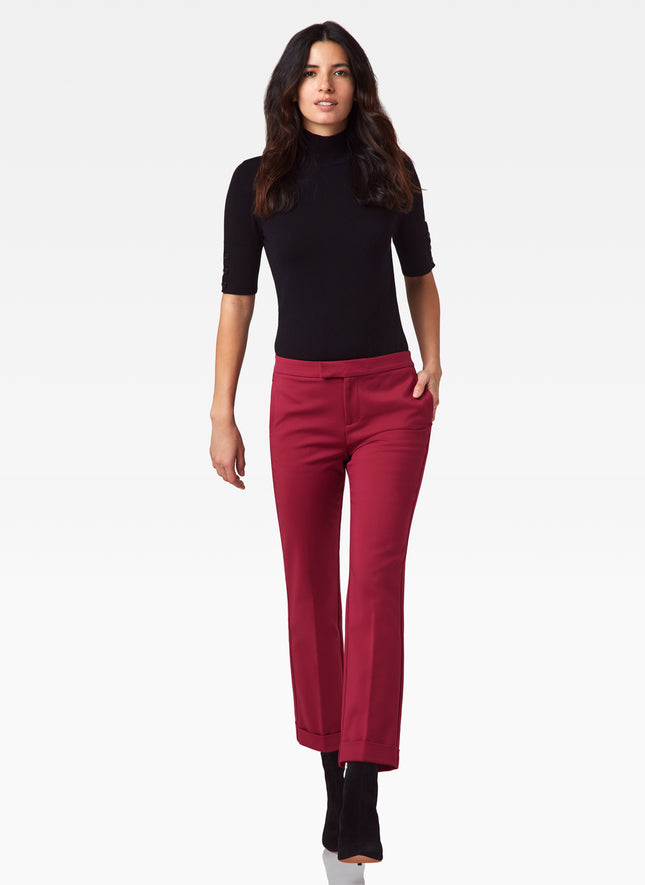 Astor Cropped Cuffed Pant