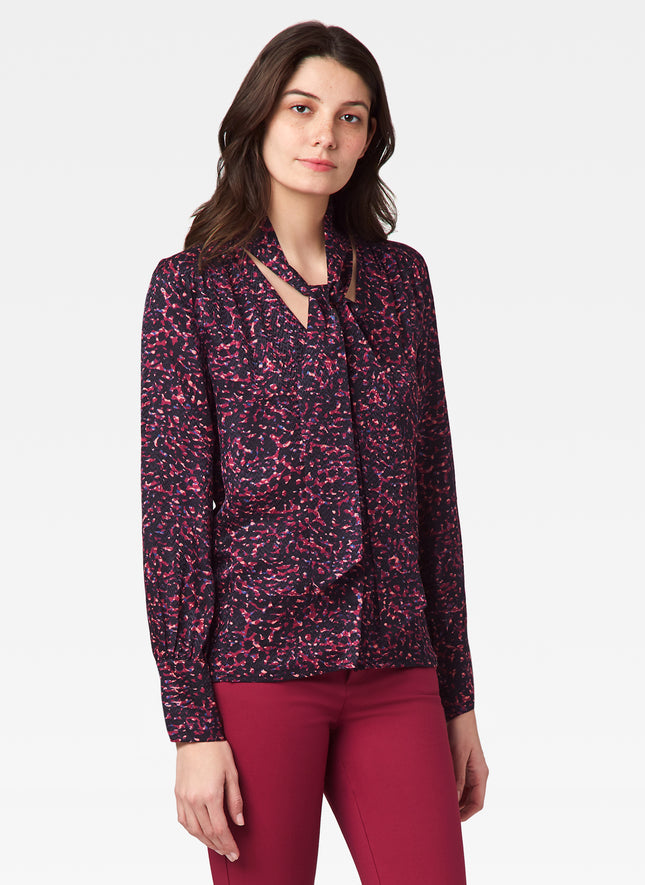 Bergman Detachable Tie Blouse