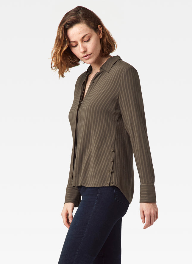 Mara Striped Gauze Shirt