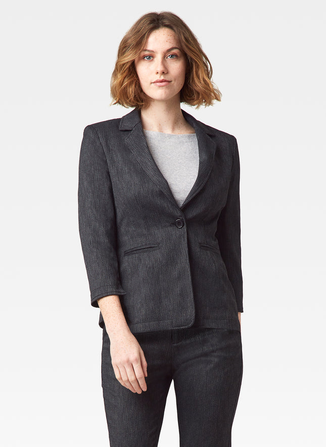 Textured Stretch Everyday Blazer