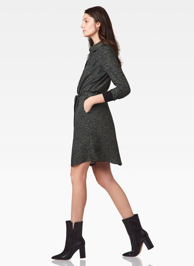 Ronan Belted Shirt Dress
