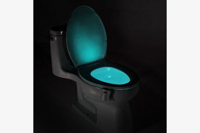 Motion Activated Disco Toilet Bowl Light