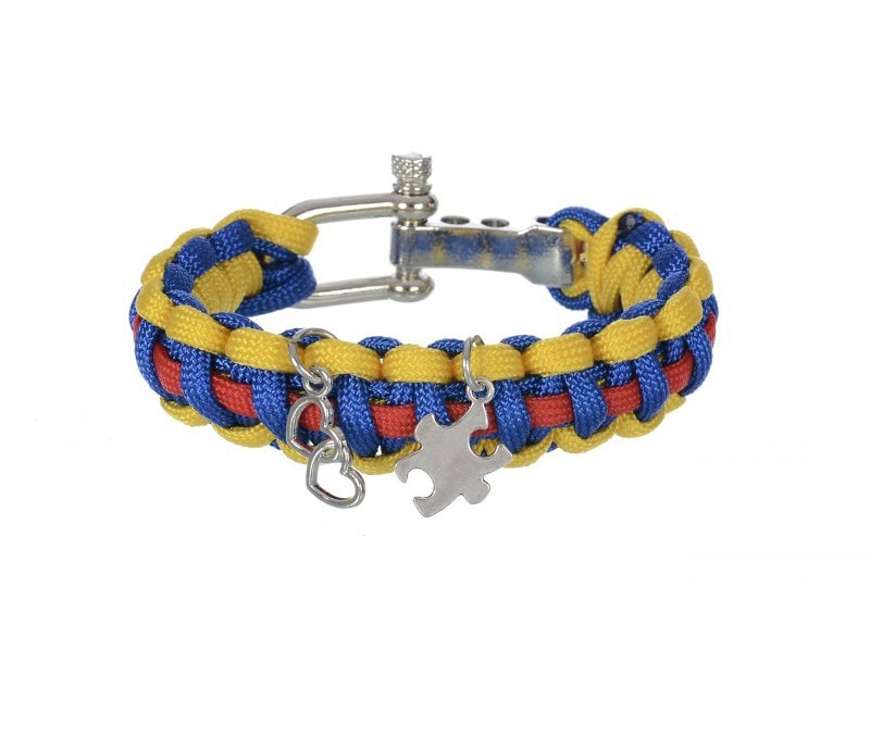 Autism Support Paracord Bracelet