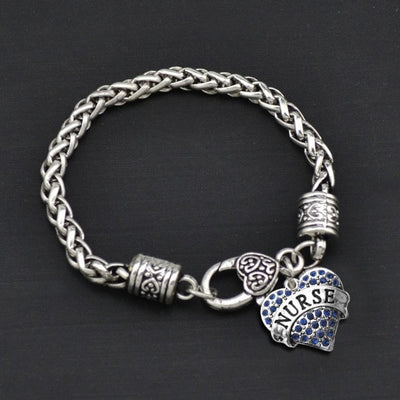 Nurse - Metal Linked Bracelet - FREE Shipping - 60% Off!