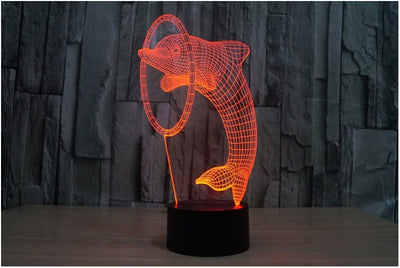 Dolphin 3D LED Color Changing Light - FREE Shipping