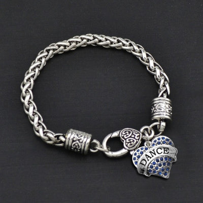 Dance - Metal Linked Bracelet - FREE Shipping - 60% Off!