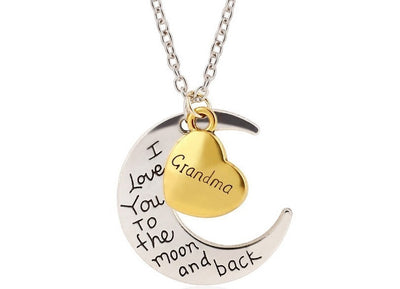 I Love You To The Moon And Back - Necklace