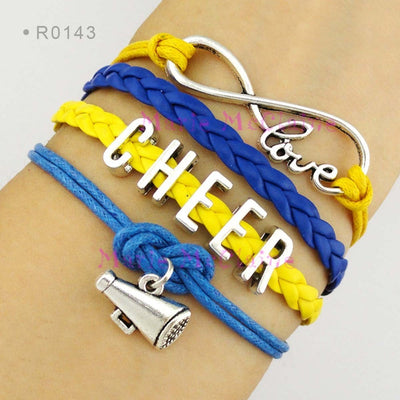 Love Cheer Braided Bangle Bracelet - FREE ShippingPromotion