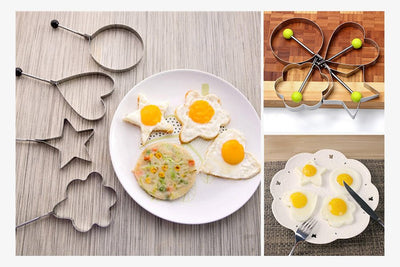 Stainless Steel Fried Egg Mold (Set of 4)
