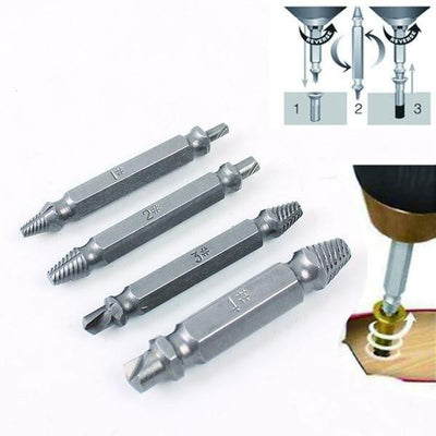 The SPINOUT - Stripped Screw Extractor