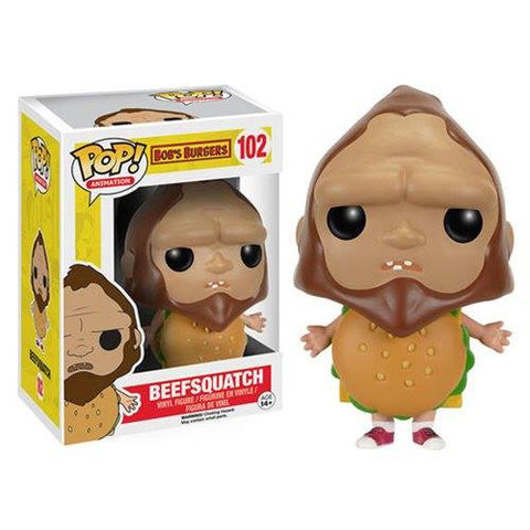 Funko Pop Bob's Burgers Beefsquatch #102 (non-exclusive) (BOB'S BURGERS LIVE/ORPHEUM PICKUP ONLY)