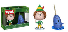 Funko Vynl: Elf Buddy and Narwhal Collectible Vinyl Figure