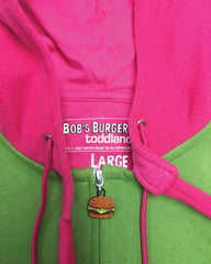 SDCC 2016 Louise Bunny Ears Hoody Fleece - green/pink  le of 200 (WONDERCON PICKUP ONLY)