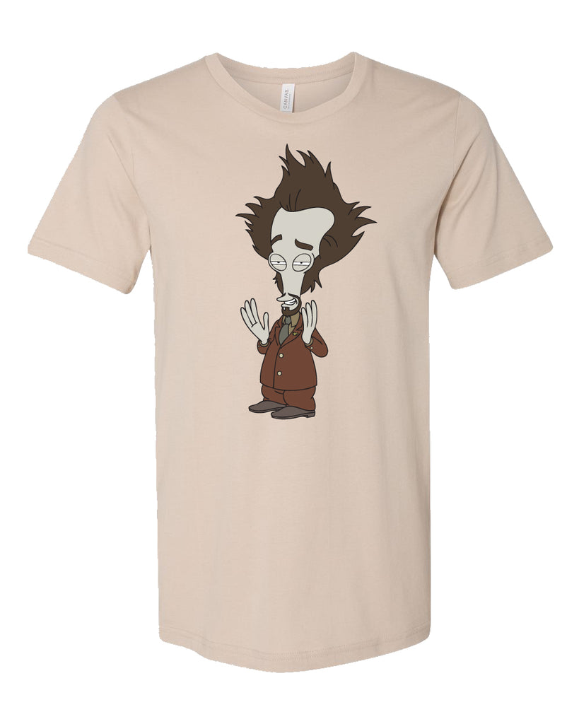 "SDCC 2018 ""Alien"" tee in tan (SDCC pickup only)"