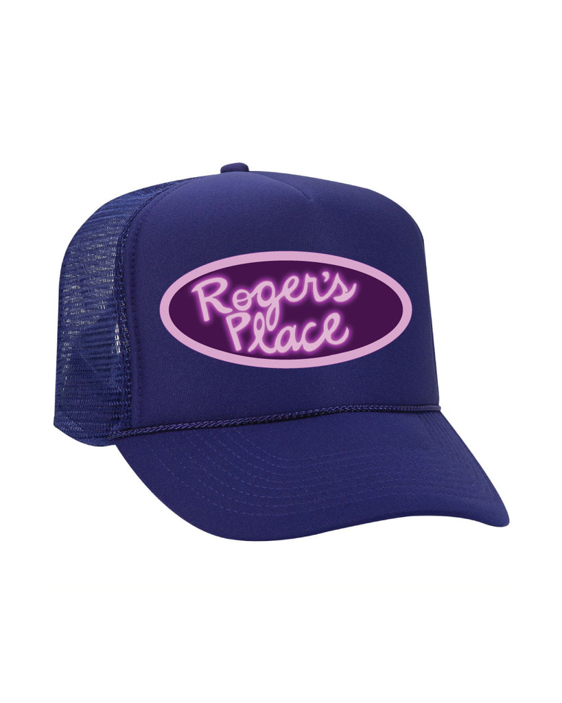 American Dad Roger's place trucker hat - (pickup only)