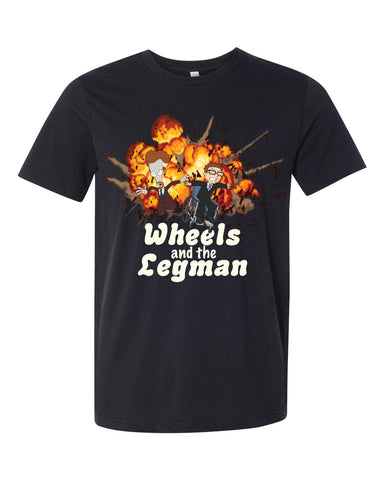 2020 American Dad Wheels and the Legman tee