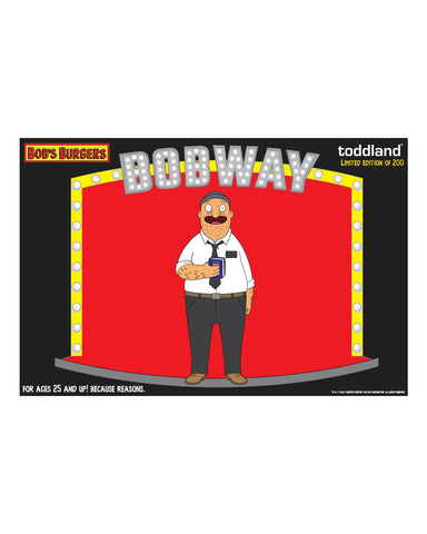 NYC Bob's Burgers BOBWAY Elder Teddy pin