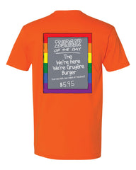 Pride 2020 - ORANGE - Bob's Burgers Burger of the Day tee