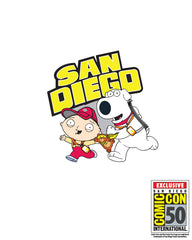 2019 Family Guy SDCC Exclusive Road to San Diego enamel pin