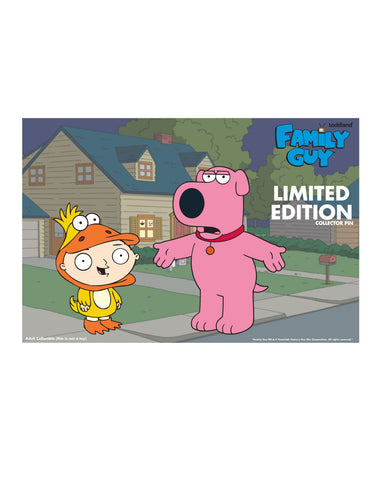 2019 Family Guy Quack Quaaaackkk!! 2 pack enamel pins (limited edition of 250)