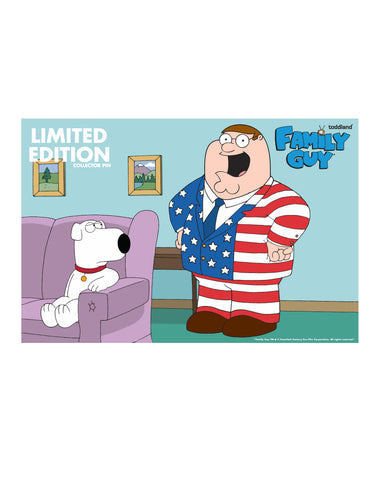 2019 Family Guy The Statue of Liberty's Pimp enamel pin (limited edition of 250)