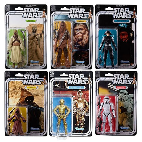 "Hasbro - 6"" Star Wars Black Series 40th anniversary - Wave 2 FULL SEALED CASE"