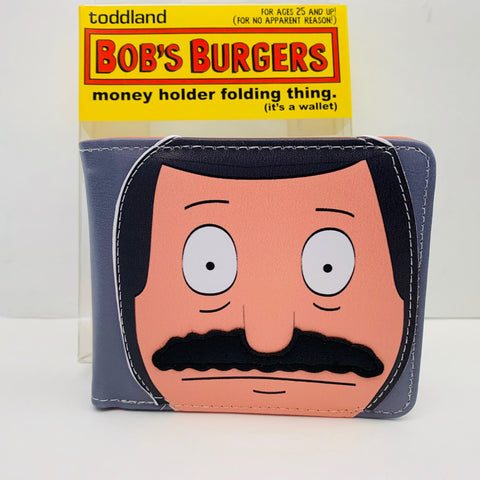 Copy of Bob's Burgers - Bob mustache wallet (SDCC 2017) - edition of 150 pcs