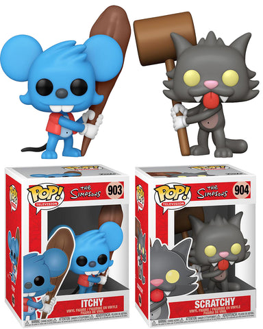 Funko POP! The Simpsons - Itchy & Scratchy