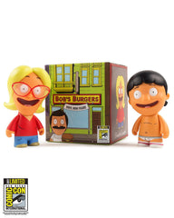 "SDCC 2018 Kidrobot x toddland (exclusive) x Bob's Burgers 3"" Blindbox - Gene or Linda (SDCC pickup only)"