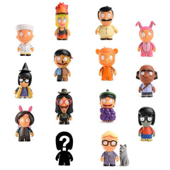"Bob's Burgers Kid Robot 3"" Series 3 blindbox"