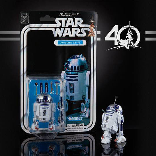 "Hasbro - 6"" Star Wars Black Series 40th anniversary - Wave 1 - R2D2 (pre-order)"