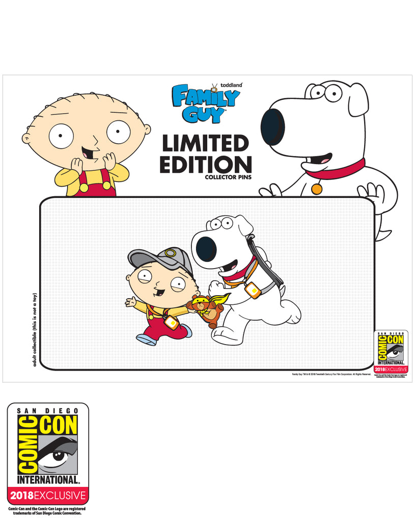 ARCHIVE: SDCC 2018 Exclusive Road to San Diego pin LE#400