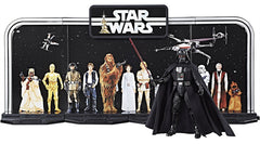 "Hasbro - 6"" Star Wars Black Series 40th anniversary - Display Diorama w/Darth Vader Figure"