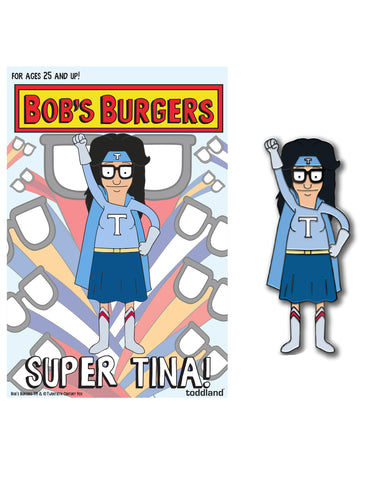 Wondercon 2020 Bob's Burgers Super Tina! pin