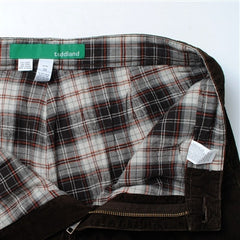 flannel lined (greatest pants in the universe) corduroy pants - chocolate