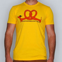 Wienerschnitzel  tee - yellow - (mens)