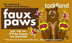 the original & kinda world famous & totally trademarked... faux paws