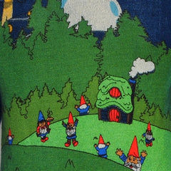 gnome place like gnome sweater