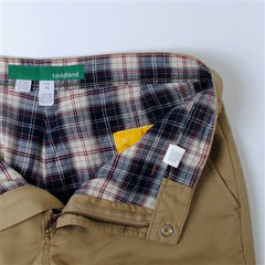 flannel lined (greatest pants in the universe) - khaki