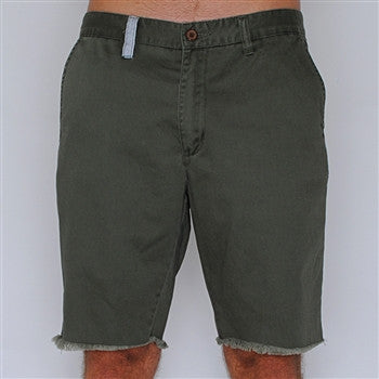 shipwreck shorts - forest green