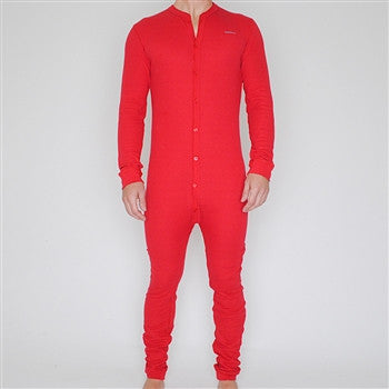 red classic union suit