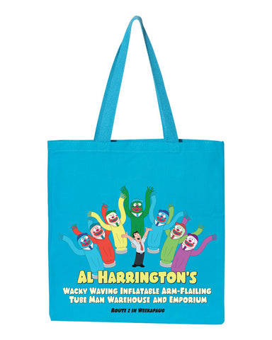2020 Family Guy Al Harrington's heavy canvas grocery tote